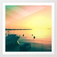 italy Art Prints featuring Italy by so_may