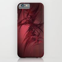Red abstract iPhone 6 Slim Case