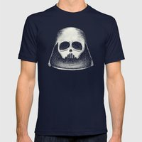 Death Vader Mens Fitted Tee Navy SMALL