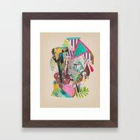 TROPICANA MACAW  Framed Art Print