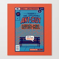 Ant Guy Canvas Print