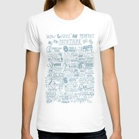 How To Make The Perfect … Womens Fitted Tee White SMALL