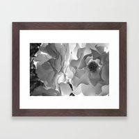 Frill Framed Art Print