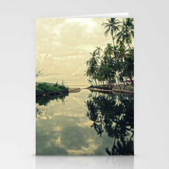 Mood for Reflection Stationery Card