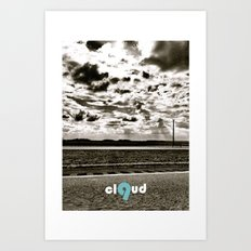 cloud 9 Art Print