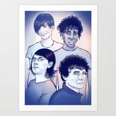Bloc Party Art Print