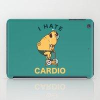 I Hate Cardio iPad Case
