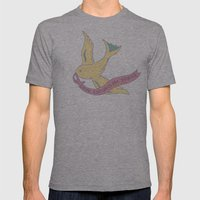 Love Banner Mens Fitted Tee Athletic Grey SMALL
