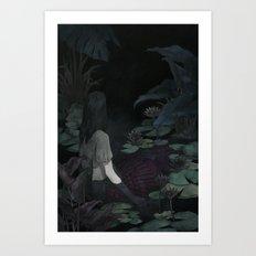 Water Birth Art Print