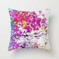 Autumn 5 X Throw Pillow
