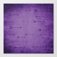 Loxley In Amethyst - Arr… Canvas Print