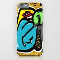 Digital Abstract Graffit… iPhone 6 Slim Case
