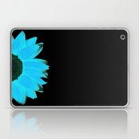 Portrait Of Summer - Blu… Laptop & iPad Skin