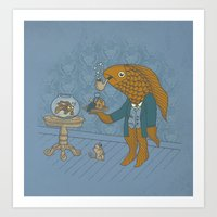 Big Eyed Fish Art Print