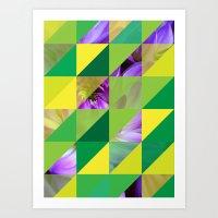 Triangles 2 Art Print
