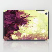 Circle of flowers iPad Case