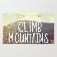 Climb Mountains Rug