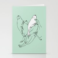 Birdsong 6 Stationery Cards
