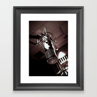 Mic Check Framed Art Print