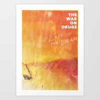 The War On Drugs - Lost In The Dream Art Print