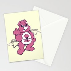 Don't Care Bear  Stationery Cards