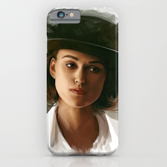 Keira Knightley in hat iPhone & iPod Case