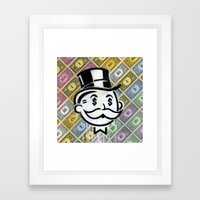Another Day - Another Dollar Framed Art Print