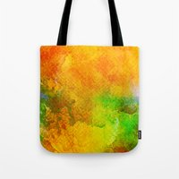 Orange Orchard Tote Bag