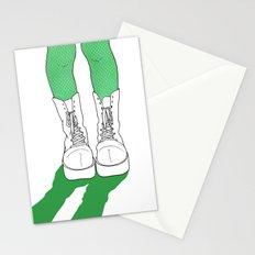 Rainbow Gossip - Green Stationery Cards