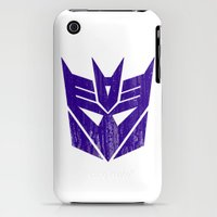 iPhone Cases featuring Decepticons by Bradley Bailey