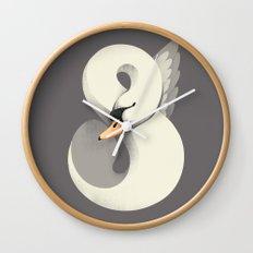Untamed Elegance Wall Clock