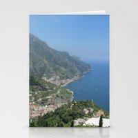 Italian Coast Stationery Cards