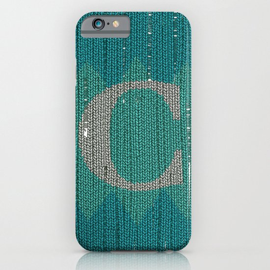 Winter clothes. Letter C. iPhone & iPod Case