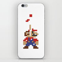 Super Mario Tetris iPhone & iPod Skin