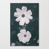Deux Fleurs Canvas Print