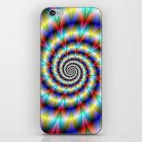 Psychedelic Twist iPhone & iPod Skin