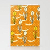 Oranje Tulpen Stationery Cards