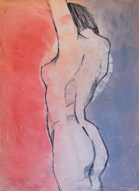 nude 01 Art Print