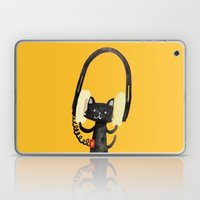 I Love Huge Headphone Laptop & iPad Skin