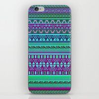 Inspired Aztec Pattern 4 iPhone & iPod Skin