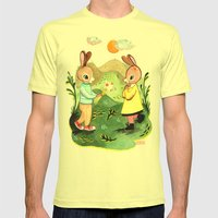 Happy Birthday Little Ra… Mens Fitted Tee Lemon SMALL