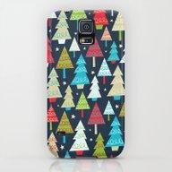 Christmas Trees Galaxy S5 Slim Case