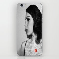 You are here in my heart iPhone & iPod Skin
