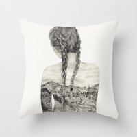 All That Is Left Is The Trace Of A Memory Throw Pillow
