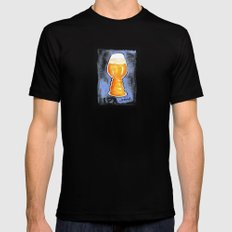 IPA Snob SMALL Mens Fitted Tee Black