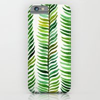 winter iPhone & iPod Cases featuring Seaweed by Cat Coquillette