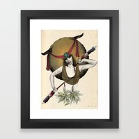 Taurus - Colour version Framed Art Print