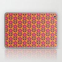 Retro Bloom Purple 5 Laptop & iPad Skin