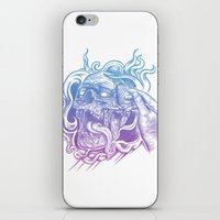 Painted Skull iPhone & iPod Skin