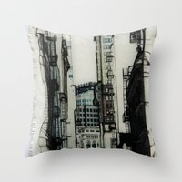 Slice Of San Francisco Throw Pillow